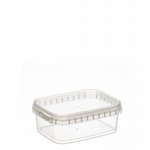 TYPE 5610 280ml Tamper Evident Clear Cont & Lid